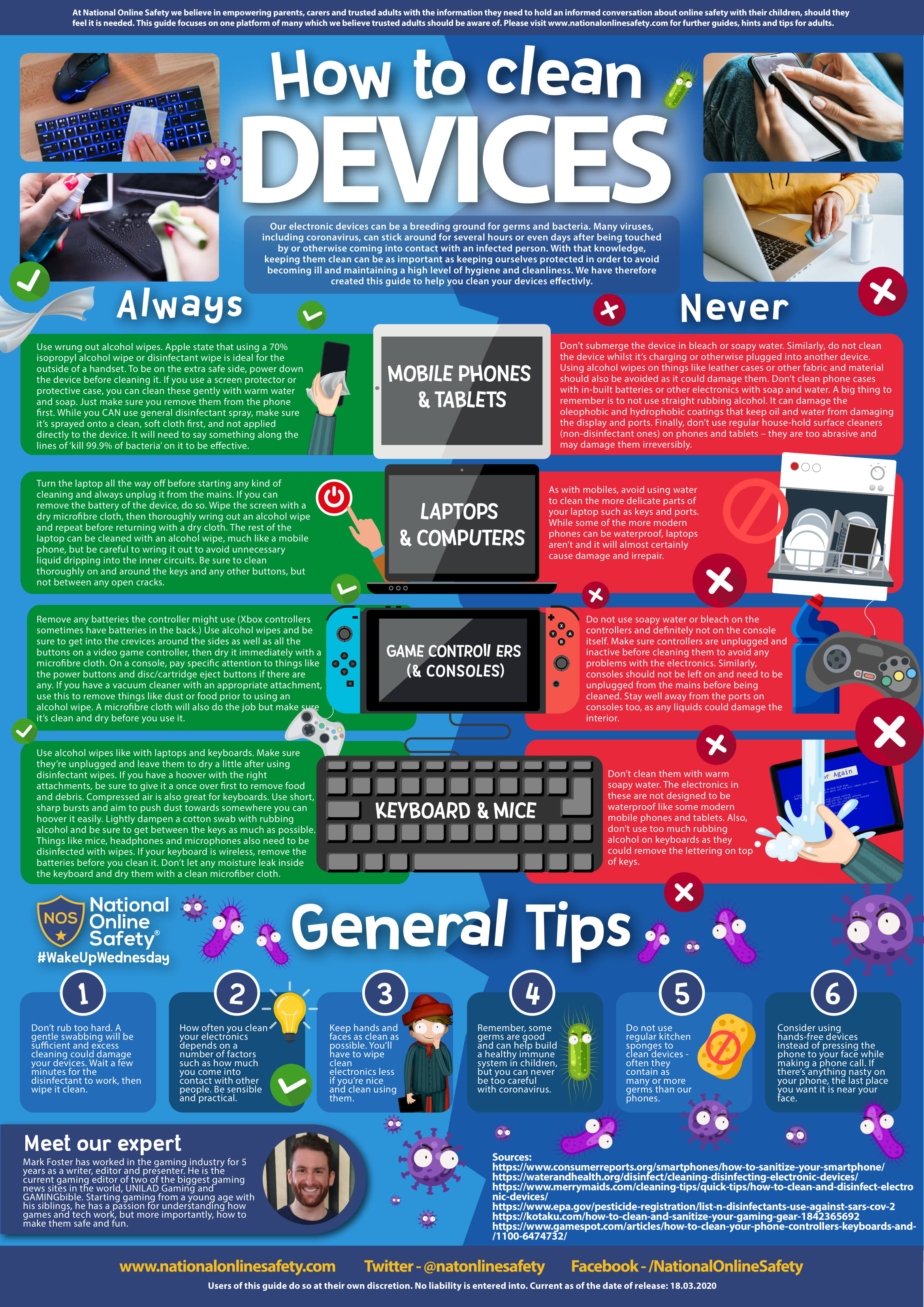 How to clean devices-1