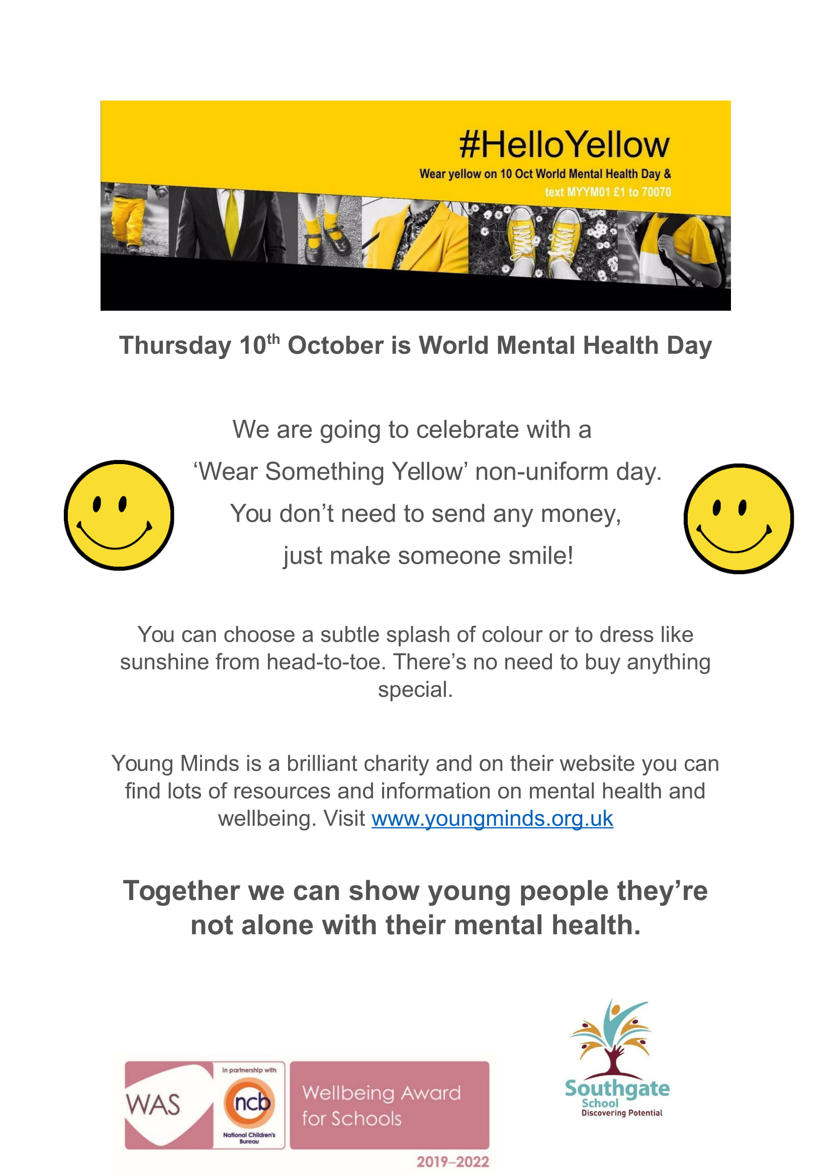 Mental Health Wellbeing Poster