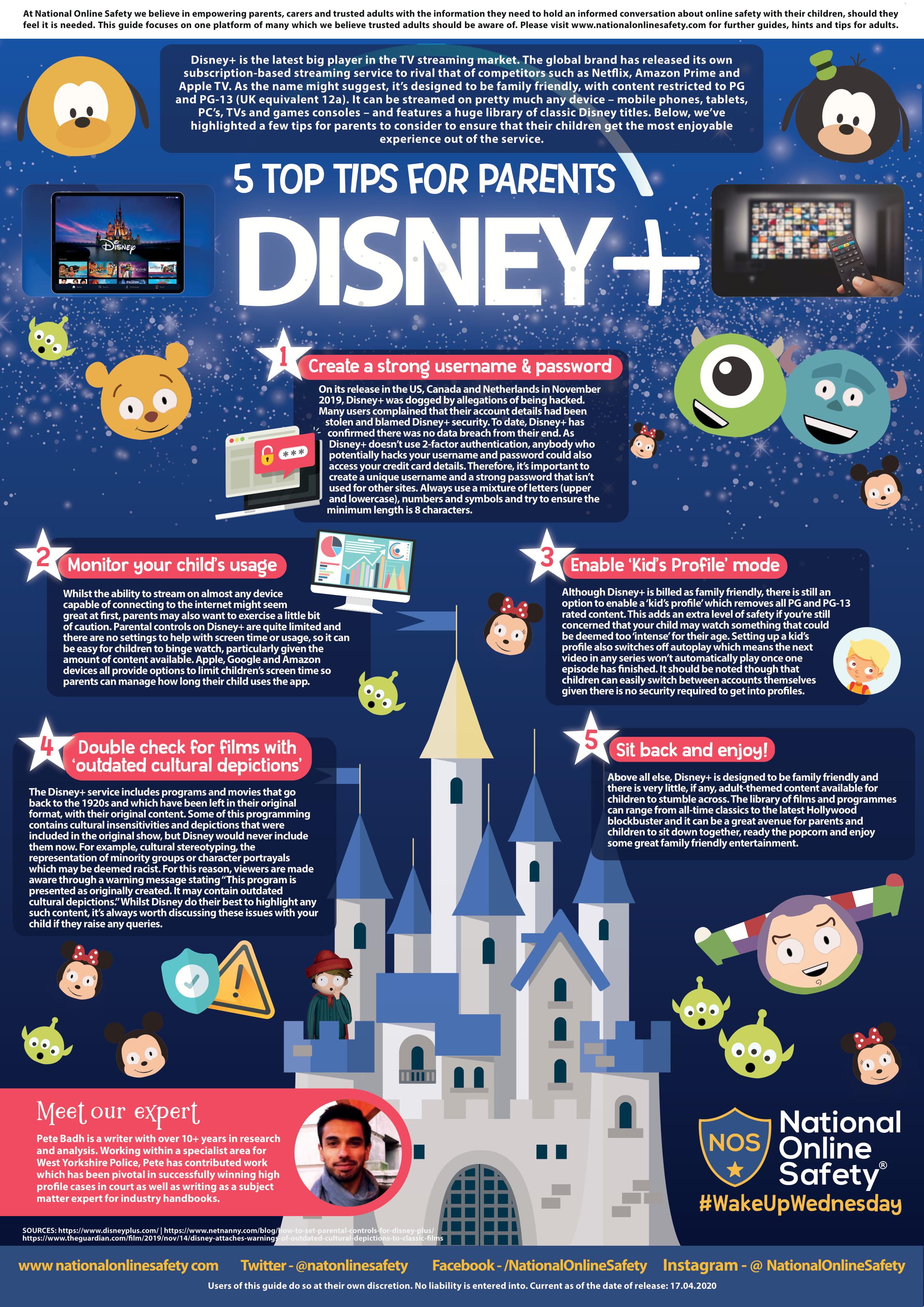 Parent Guide to Disney+-1